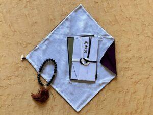 香典袋と袱紗と数珠